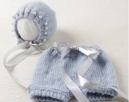 newborn photo props mohair and hat set in gray newborn photography props