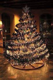 wine bottle christmas ideas wine bottle christmas tree mathmarkstrainones