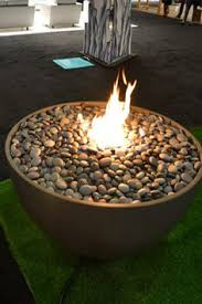 Lava Rock For Fire Pit by Propane Fire Pit With Glass Can Build This Fire Pit For You Or