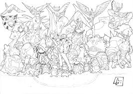 eevee evolutions coloring pages eevee evolution coloring pages