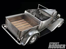 Old Ford Truck Kit Car - 1932 ford roadster pickup garage scene rod network