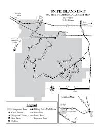 Big Bend Map Snipe Island Unit Big Bend Wma Maplets