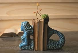 unique book ends mermaid bookends unique bookends antique farmhouse
