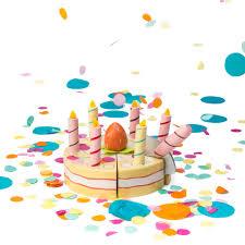 jeux de cuisine de gateaux d anniversaire gâteau d anniversaire à la vanille la à confettis