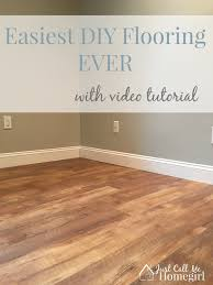 Diy Laminate Flooring Allure Gripstrip Easiest Diy Flooring Ever Just Call Me Homegirl