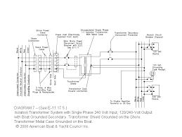 wiring diagram marine isolation transformer wiring diagram diag2