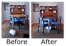 Makeover Of A Pine Kitchen by Makeovers Refinishing A Kitchen Table How To Refinish A Kitchen