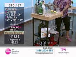 folding kitchen island cart origami folding kitchen island cart at the shopping channel 510467
