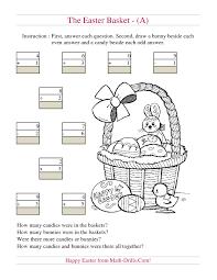 easter egg map with grid references a math worksheet worksheets