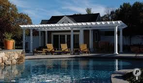 How To Build A Pergola Attached To House by We Architect U0026 Install Maintenance Free Custom Pergolas