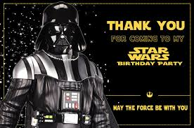 wars thank you cards wars thank you funpartysupply