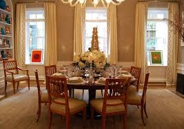 dining room bright white dining room with wooden dining table and