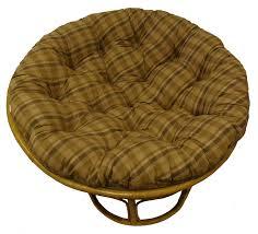 amazon com cotton craft papasan reversible plaid tan overstuffed