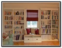 Ikea Hemnes Bookcase White Ikea Hemnes Bookcase Built In Home Design Ideas