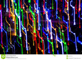 various color light lines in motion stock photography image