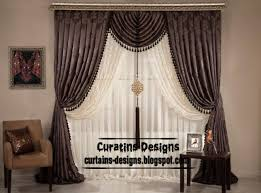 Exclusive Curtain Fabrics Designs Drapery Designs Pictures Unique Embossed Curtain Design Brown
