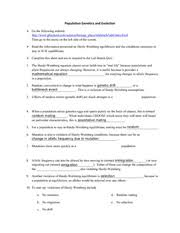 lab bench activity and worksheet population genetics and