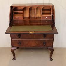 Queen Anne Secretary Desk by Walnut Queen Anne Style Bureau Antiques Atlas
