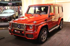 can now spot it in red mercedes benz g 65 amg