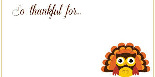 thanksgiving templates card thanksgiving blessings