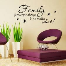 aliexpress com buy creative plane wall stickers english quote aliexpress com buy creative plane wall stickers english quote family forever for always home decor waterproof stickers removable for living room from