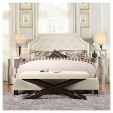 Winged Tufted Headboard by Parkside Button Tufted Headboard Homelegance Target