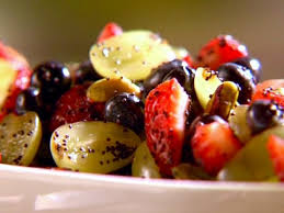fruit salad with poppy seed dressing recipe sunny anderson