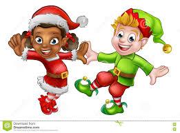 christmas elves christmas elves stock vector image 79512029