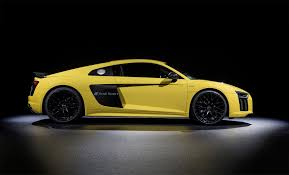 Audi R8 Yellow - turn your audi r8 into a mobile billboard with new paint tech by
