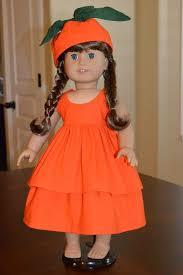 Pumpkin Costume Halloween 165 American Doll Halloween Costumes Images