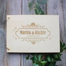 Rustic Photo Album Wedding Albums Personalized Reviews Online Shopping Wedding