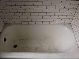 How To Clean A Dirty Bathtub Articles With Clean Old Stained Porcelain Tub Tag Wondrous
