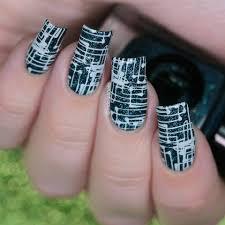 lina make your mark 02 nail stamping plate