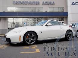 nissan 350z nismo price pre owned 2007 nissan 350z nismo coupe in bridgewater p7208s