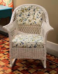Vintage Childrens Rocking Chairs Found In Ithaca Vintage Wicker Rocker Sold