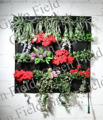 16 pockets felt vertical living wall garden blanket living wall