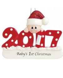 Baby S First Christmas Decoration Uk by Baby U0027s First Christmas Personalised Tree Decorations Uk