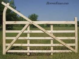 five bar gates hoover fence co ornamental wooden gates for
