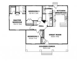 Simple 3 Bedroom House Plans Without Garage Simple Bungalow 2 Bedroom House Plans