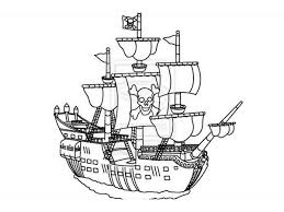 pirate ship coloring pages kids print coloring pages