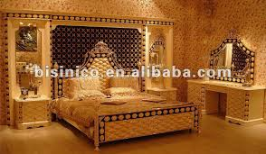 chambre or 24k gold plated bedroom set wholesale set suppliers alibaba
