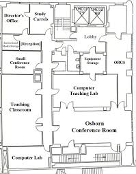 Computer Room Floor Plan by Health Professions Education Center Hunter College Schools Of