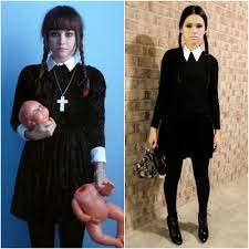 Pinterest Family Halloween Costumes by Adams Family Wednesday Addams Halloween Costume Ideas Fashion Blog