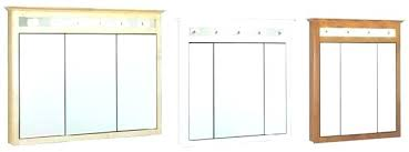 tri fold medicine cabinet hinges tri view medicine cabinet hinges horizon x recessed medicine cabinet