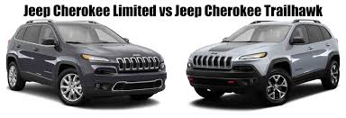 jeep cherokee white with black rims jeep cherokee limited vs jeep cherokee trailhawk what are the