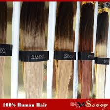 hair extension xcsunny 6a peruvian hair extension nano human hair 1g package 100g