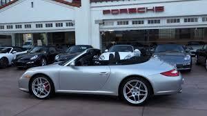 2009 porsche 911 cabriolet 2009 porsche 911 4s cabriolet pdk arctic silver low