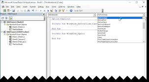 excel vba workbook events worksheet events u0026 onkey events u2013