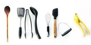simple kitchen utensils interior design