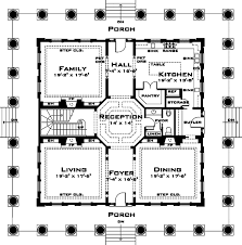 classical style house plan 3 beds 3 50 baths 4500 sq ft plan 64 297